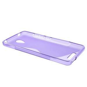 S-line gelový obal na mobil Xiaomi Redmi Note 2 - fialový - 3