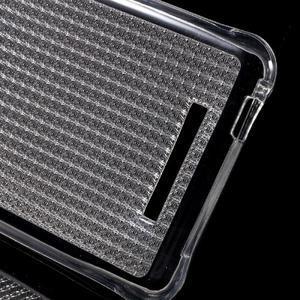 Diamonds gélový obal pre Xiaomi Redmi Note 2 - transparentné - 3