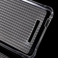 Diamonds gélový obal pre Xiaomi Redmi Note 2 - transparentné - 3/7