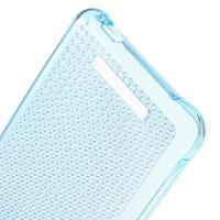 Diamonds gélový obal pre Xiaomi Redmi Note 2 - modrý - 3/5