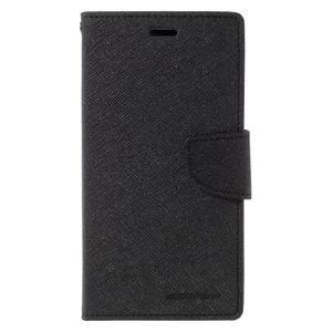 Wallet PU kožené pouzdra na Xiaomi Redmi Note 3 - černé - 3