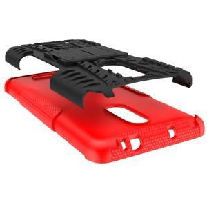 Outdoor odolný kryt pre Xiaomi Redmi Note 3 - červený - 3