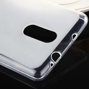 Matný gélový obal pre Xiaomi Redmi Note 3 - biele - 3
