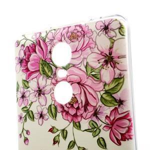 Softy gelový obal na Xiaomi Redmi Note 3 - růže - 3