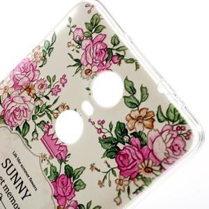 Softy gélový obal pre Xiaomi Redmi Note 3 - kvetiny - 3