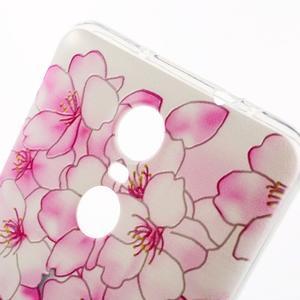 Softy gelový obal na Xiaomi Redmi Note 3 - květy švestky - 3