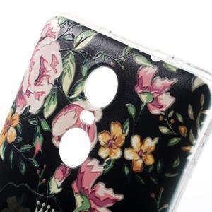Softy gélový obal pre Xiaomi Redmi Note 3 - flower - 3