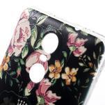 Softy gélový obal pre Xiaomi Redmi Note 3 - flower - 3/5