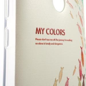 Softy gelový obal na Xiaomi Redmi Note 3 - ryby - 3