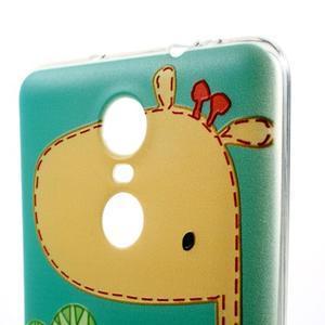Softy gelový obal na Xiaomi Redmi Note 3 - žirafa - 3