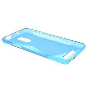 S-line gelový obal na Xiaomi Redmi Note 3 - modrý - 3
