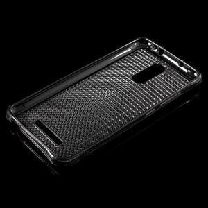 Diamonds gélový obal pre Xiaomi Redmi Note 3 - sivý - 3