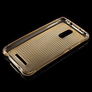 Diamonds gelový obal na Xiaomi Redmi Note 3 - zlatý - 3