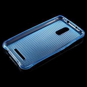 Diamonds gélový obal pre Xiaomi Redmi Note 3 - modrý - 3
