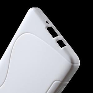 Gélové s-line puzdro pre Samsung Galaxy A3    - biele - 3
