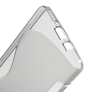 Gélové s-line puzdro pre Samsung Galaxy A3    - šedá - 3