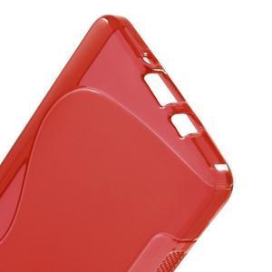 Gélové s-line puzdro na Samsung Galaxy A3 - červená - 3