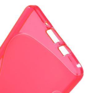 Gélové s-line puzdro na Samsung Galaxy A3 - ružová - 3