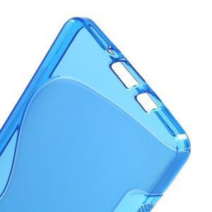 Gélové s-line puzdro pre Samsung Galaxy A3    - modrá - 3