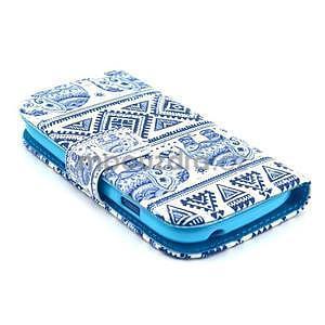 Peňaženkové púzdro na Samsung Galaxy S3 mini - slony - 3