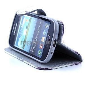 Peňaženkové puzdro na Samsung Galaxy S3 mini - Eiffelova veža - 3