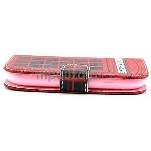 Peňaženkové puzdro na Samsung Galaxy S3 mini - telefónna búdka - 3