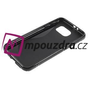 Gélové s-line puzdro pre Samsung Galaxy S6 - čierné - 3