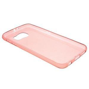 Slimové puzdro na Samsung Galaxy S6 - červené - 3