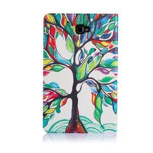 Picture polohovatelné puzdro na Samsung Galaxy Tab A 10.1 (2016) - strom - 3