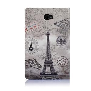 Picture polohovatelné puzdro na Samsung Galaxy Tab A 10.1 (2016) - Eiffelka - 3