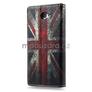 Peňaženkové puzdro na mobil Sony Xperia M2 - UK vlajka - 3