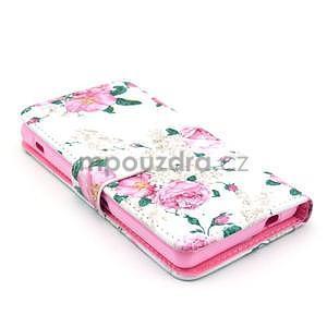 Puzdro pre mobil Sony Xperia Z1 Compact - kvety - 3