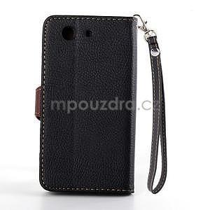 Leaf Peňaženkové puzdro pre Sony Xperia Z3 Compact - čierne - 3
