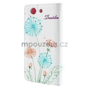 Puzdro na mobil Sony Xperia Z3 Compact - kreslené pampelišky - 3