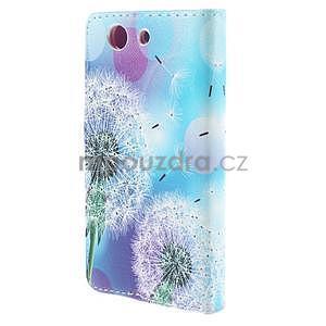 Puzdro na mobil Sony Xperia Z3 Compact - odkvetlé pampelišky - 3