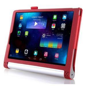 Ochranné puzdro pre Lenovo Yoga Tablet 2 10.1 - červené - 3