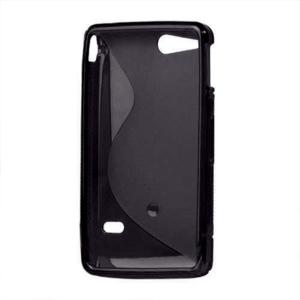 Gélové S-line puzdro na Sony Xperia Go- čierne - 3