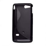 Gélové S-line puzdro na Sony Xperia Go- čierne - 3/3