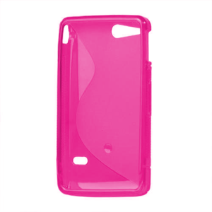 Gélové S-line puzdro na Sony Xperia Go- růžové - 3