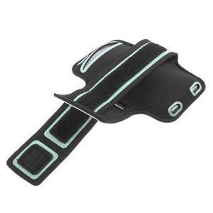 Fittsport puzdro na ruku pre mobil do rozmerov 143.4 x 70,5 x 6,8 mm - biele - 3