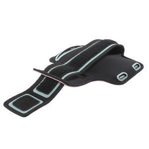 Fittsport pouzdro na ruku pro mobil do rozměrů 143.4 x 70,5 x 6,8 mm - rose - 3