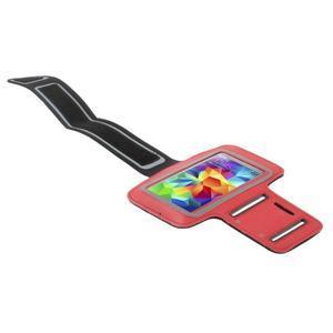 Run bežecké puzdro na mobil do veľkosti 131 x 65 mm - červené - 3