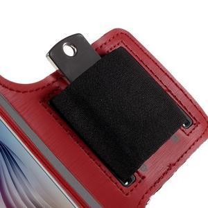 Gyms puzdro na behanie pre mobily do 143 x 70 mm - červené - 3