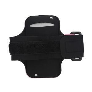 JogyFit športové puzdro na telefón do veľkosti 115 x 60 mm - ružové - 3