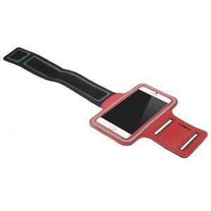 Gymfit športové puzdro pre telefón do 125 x 60 mm - červené - 3