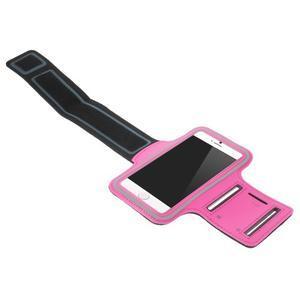 Gymfit športové puzdro pre telefón do 125 x 60 mm - rose - 3