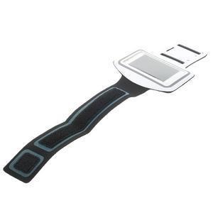 Gymfit športové puzdro pre telefón do 125 x 60 mm - biele - 3