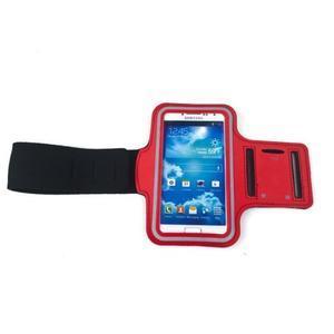 Červený športový obal na mobil do veľkosti 145 x 75 mm - 3
