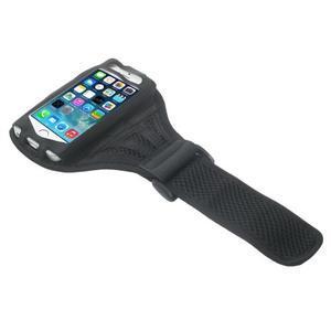 Absorb športové puzdro na telefón do veľkosti 125 x 60 mm - čierne - 3