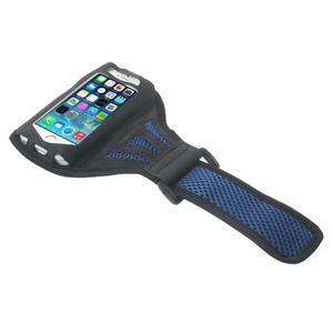 Absorb športové puzdro na telefón do veľkosti 125 x 60 mm -  modré - 3